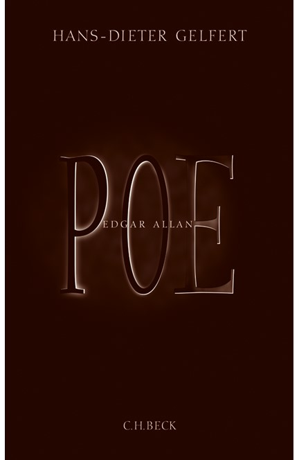 Cover: Hans-Dieter Gelfert, Edgar Allan Poe