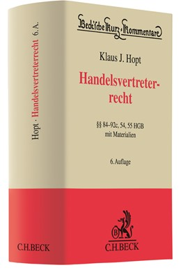 Abbildung von Hopt | Handelsvertreterrecht | 6. Auflage | 2019 | Band 9a | beck-shop.de