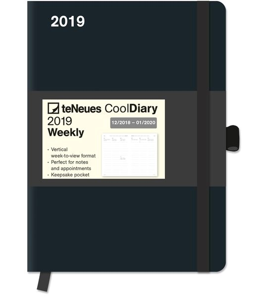 2019 Black/Black Cool Diary, 2018 | Buch (Cover)