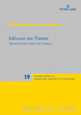 Abbildung von Mälzer / Wünsche | Inklusion am Theater | 1. Auflage | 2018 | beck-shop.de
