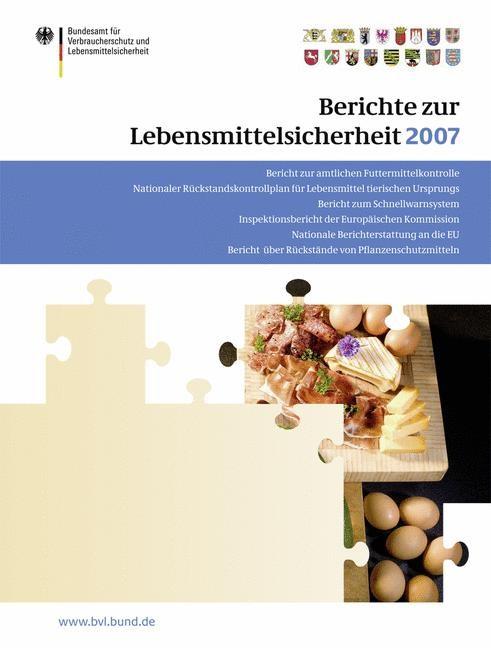 Berichte zur Lebensmittelsicherheit 2007   Brandt, 2008   Buch (Cover)