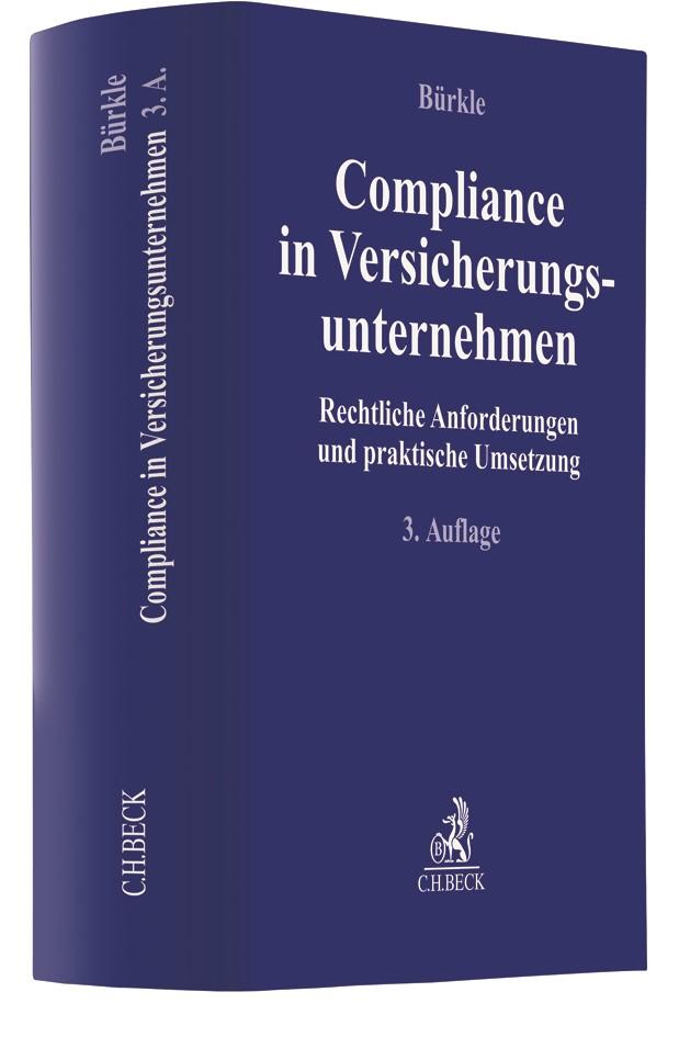 Compliance in Versicherungsunternehmen | Bürkle | 3. Auflage, 2019 | Buch (Cover)