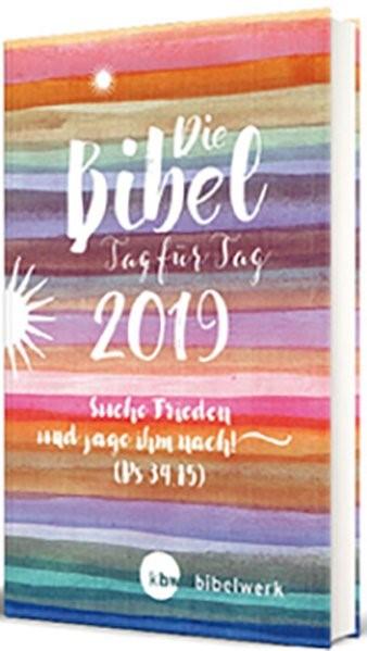 Die Bibel Tag für Tag 2019 / Großausgabe | Brand / Gunkel / Sauter, 2018 | Buch (Cover)