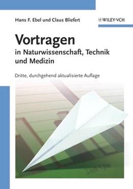 Abbildung von Ebel / Bliefert | Vortragen | 3., aktual. Aufl. | 2004