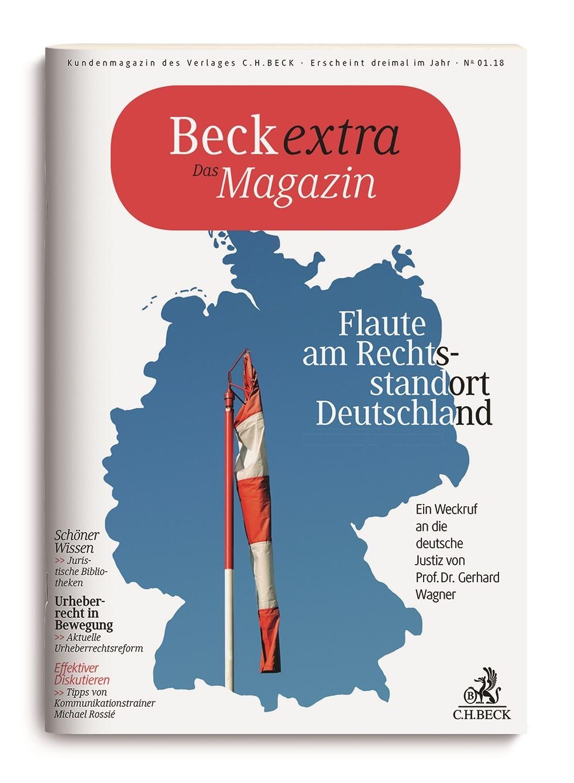 Beckextra Das Magazin • Heft 1/2018, 2018 (Cover)