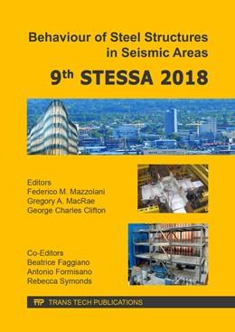 Abbildung von Mazzolani / MacRae / Clifton | Behaviour of Steel Structures in Seismic Areas | 2018 | 9th STESSA 2018 | Volume 763