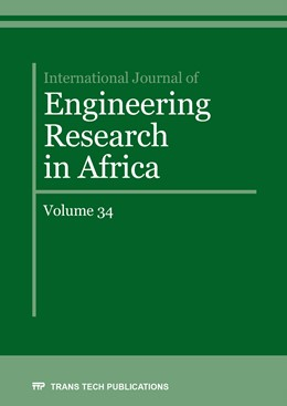 Abbildung von International Journal of Engineering Research in Africa Vol. 34 | 1. Auflage | 2018 | Volume 34 | beck-shop.de