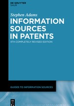 Abbildung von Adams | Information Sources in Patents | 4th completely rev. ed. | 2020