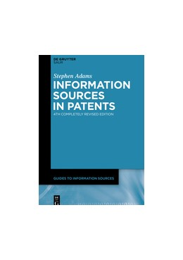 Abbildung von Adams | Information Sources in Patents | 4th completely rev. ed. | 2020