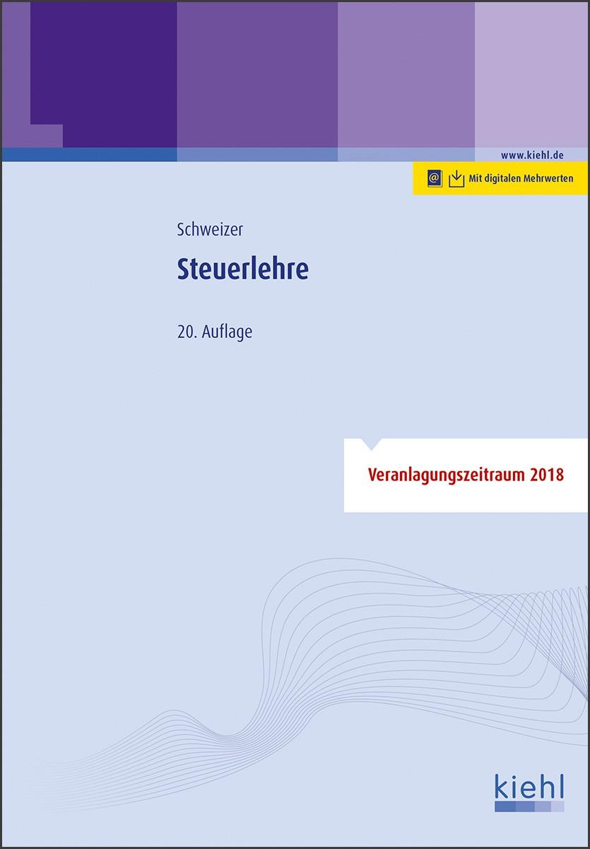 Steuerlehre | Schweizer | 20., aktualisierte Auflage, 2018 | Buch (Cover)