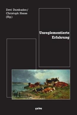 Abbildung von Dumbadze / Hesse | Unreglementierte Erfahrung | 2015