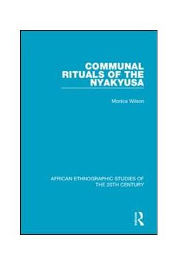 Abbildung von Wilson | Communal Rituals of the Nyakyusa | 2018
