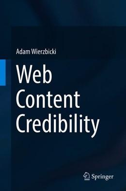 Abbildung von Wierzbicki   Web Content Credibility   1st ed. 2018   2018