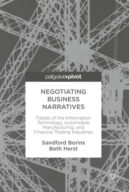 Negotiating Business Narratives | Borins / Herst | 1st ed. 2018, 2018 | Buch (Cover)