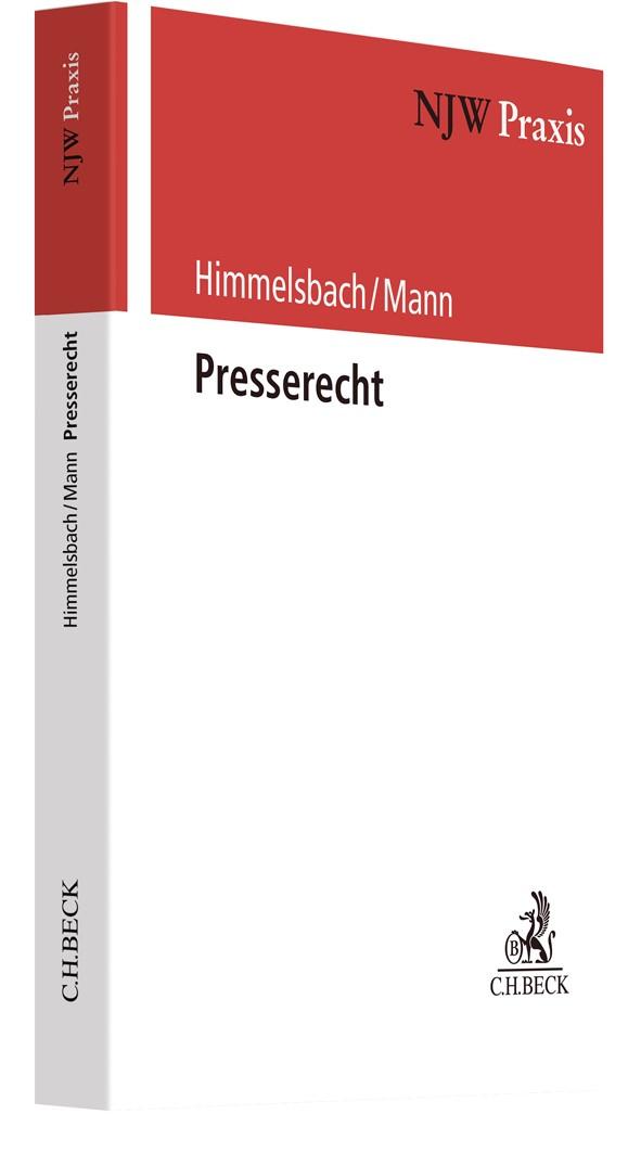 Presserecht | Himmelsbach / Mann, 2020 | Buch (Cover)