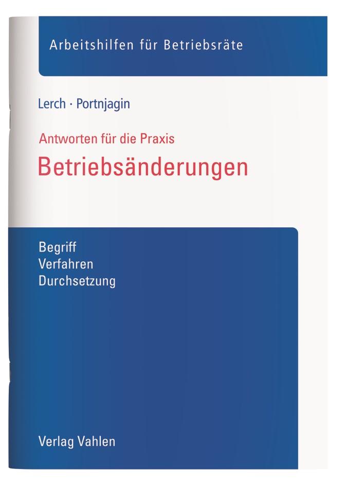 Betriebsänderungen | Lerch / Portnjagin, 2018 | Buch (Cover)