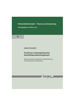 Abbildung von Krumeich | Proaktives ereignisgesteuertes Geschäftsprozessmanagement | 1. Auflage | 2018 | 31 | beck-shop.de