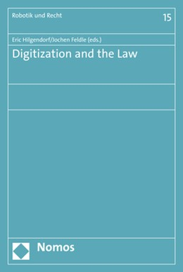 Abbildung von Hilgendorf / Feldle | Digitization and the Law | 2018