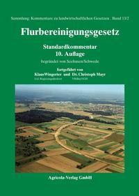 Flurbereinigungsgesetz | Wingerter / Mayr | 10. Auflage, 2018 (Cover)