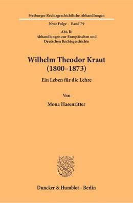 Abbildung von Hasenritter | Wilhelm Theodor Kraut (1800–1873) | 1. Auflage | 2018 | 79 | beck-shop.de
