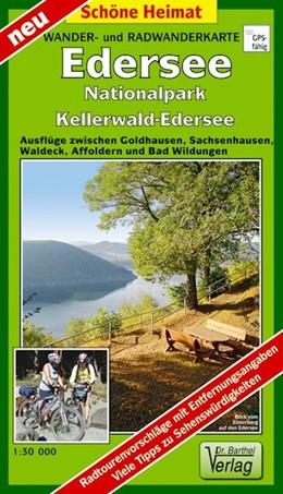 Abbildung von Wander- und Radwanderkarte Edersee, Nationalpark Kellerwald-Edersee und Umgebung   1. Auflage, Laufzeit bis 2024   2018   Ausflüge zwischen Goldhausen, ...
