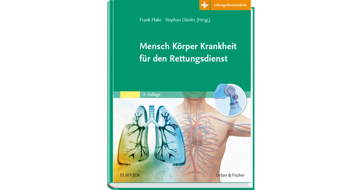 Mensch Körper Krankheit für den Rettungsdienst | Flake / Dönitz | 2 ...