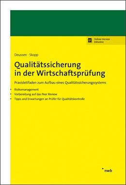Abbildung von Deussen / Skopp | Qualitätssicherung in der Wirtschaftsprüfung | 1. Auflage | 2020 | beck-shop.de
