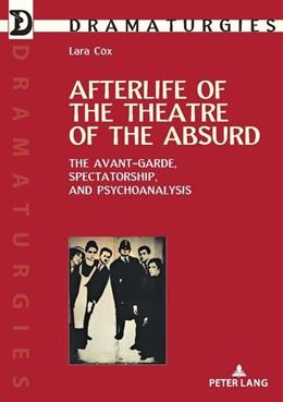 Abbildung von Cox   Afterlife of the Theatre of the Absurd   1. Auflage   2018   beck-shop.de