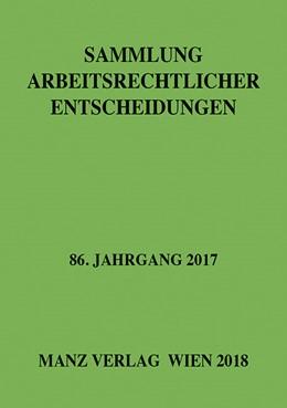 Abbildung von Weiß | Sammlung arbeitsrechtlicher Entscheidungen | 1. Auflage | 2018 | beck-shop.de
