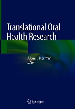 Abbildung von Meurman | Translational Oral Health Research | 1st ed. 2018 | 2018