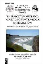 Thermodynamics and Kinetics of Water-Rock Interaction | Oelkers / Schott, 2018 | Buch (Cover)