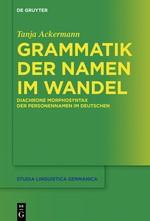 Abbildung von Ackermann   Grammatik der Namen im Wandel   2018