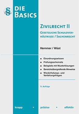 Abbildung von Hemmer / Wüst | Basic Zivilrecht II | 9. Auflage | 2018 | beck-shop.de
