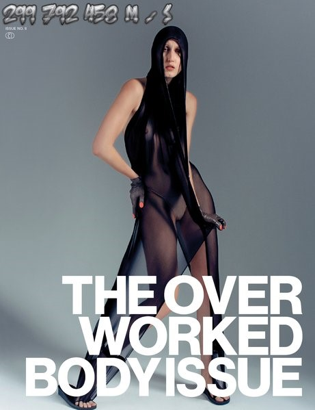 299 792 458 m/s The Overworked Body Issue #2 An Anthology of 2000s dress by Robert Kulisek / David Lieske, 2018 | Buch (Cover)