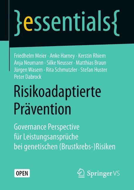Risikoadaptierte Prävention | Meier / Harney / Rhiem, 2018 | Buch (Cover)