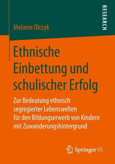 Ethnische Einbettung und schulischer Erfolg | Olczyk, 2018 | Buch (Cover)