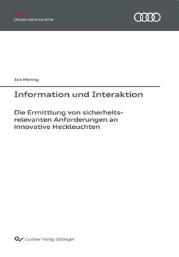 Abbildung von Mennig   Information und Interaktion   2018   Die Ermittlung von sicherheits...