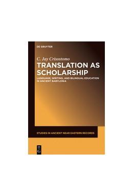 Abbildung von Crisostomo   Translation as Scholarship   1. Auflage   2019   22   beck-shop.de