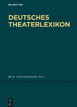 Abbildung von Deutsches Theater-Lexikon   1. Auflage   2018   beck-shop.de