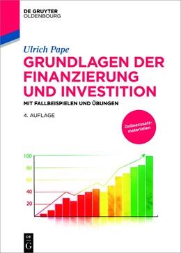 Abbildung von Pape | Grundlagen der Finanzierung und Investition | 4. Auflage | 2018 | beck-shop.de