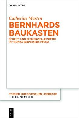 Abbildung von Marten | Bernhards Baukasten | 2018 | Schrift und sequenzielle Poeti... | 217