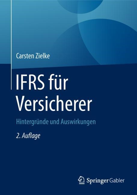 IFRS für Versicherer | Zielke | 2. Aufl. 2018, 2018 | Buch (Cover)