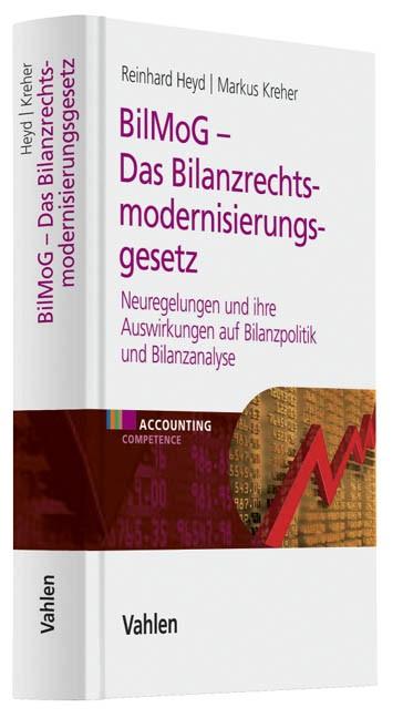 BilMoG - Das Bilanzrechtsmodernisierungsgesetz | Heyd / Kreher, 2009 | Buch (Cover)
