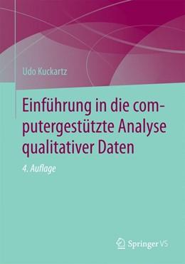 Abbildung von Kuckartz | Einführung in die computergestützte Analyse qualitativer Daten | 4. Auflage | 2021 | beck-shop.de
