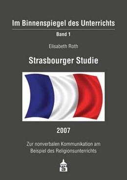 Abbildung von Roth | Strasbourger Studie 2007 | 1. Auflage | 2009 | 1 | beck-shop.de