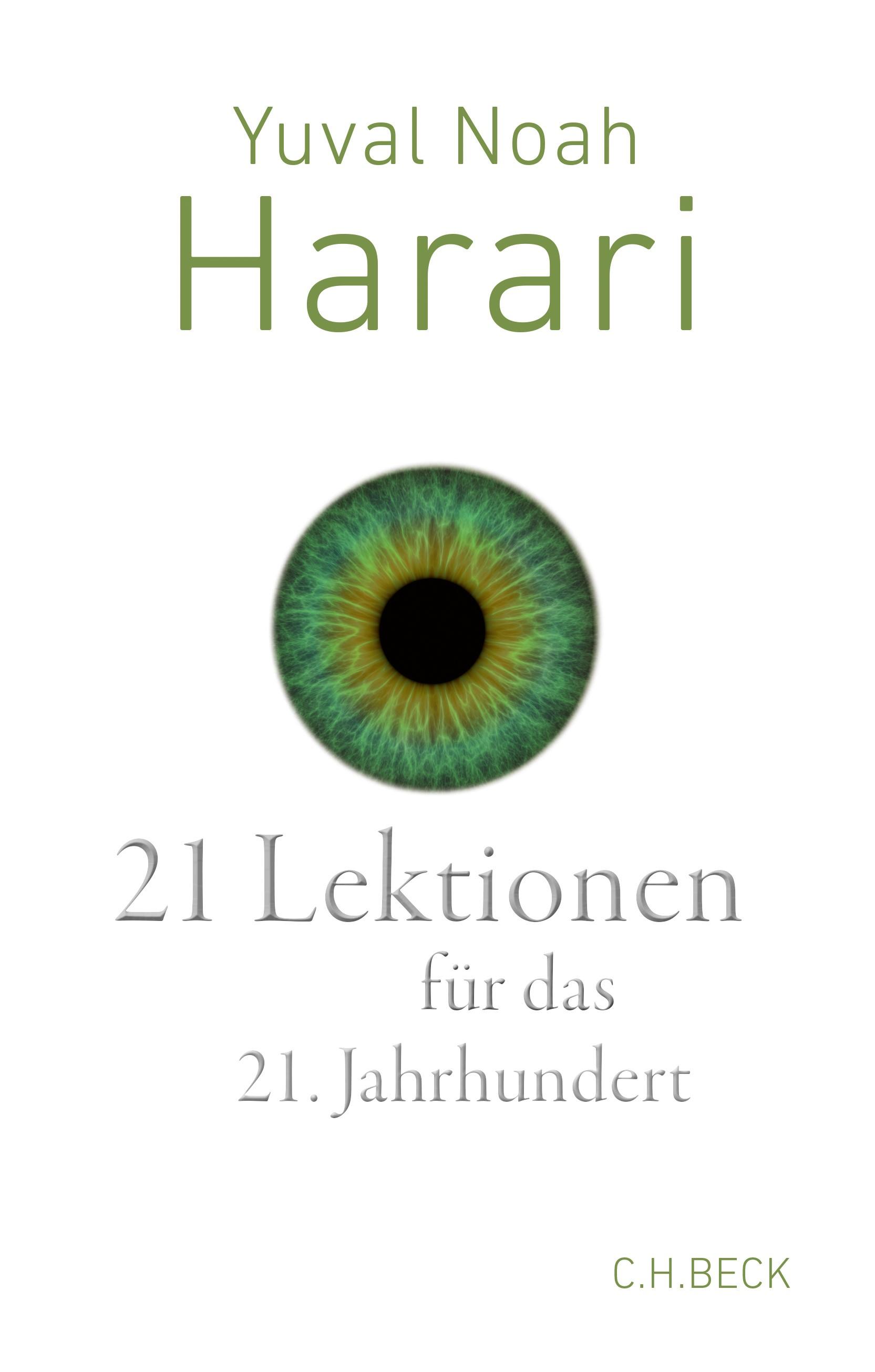 21 Lektionen für das 21. Jahrhundert | Harari, Yuval Noah, 2018 | Buch (Cover)