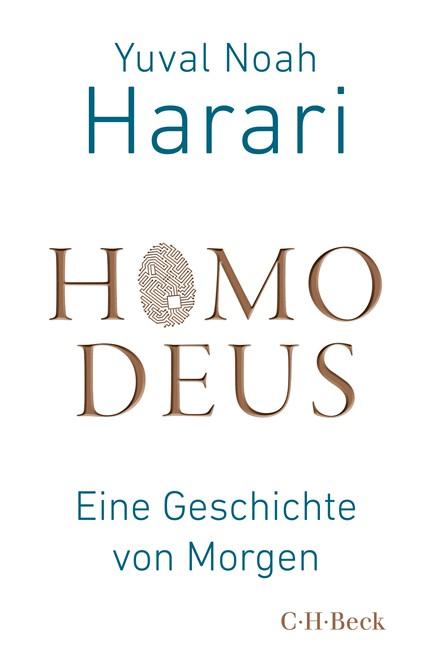 Cover: Yuval Noah Harari, Homo Deus