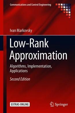 Abbildung von Markovsky | Low-Rank Approximation | 2nd ed. 2019 | 2018 | Algorithms, Implementation, Ap...