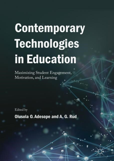 Contemporary Technologies in Education | Adesope / Rud | 1st ed. 2019, 2018 | Buch (Cover)
