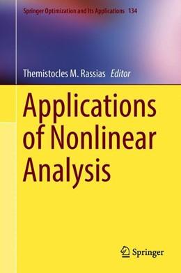 Abbildung von Rassias | Applications of Nonlinear Analysis | 1. Auflage | 2018 | 134 | beck-shop.de